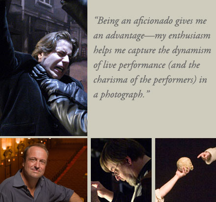Performance photography